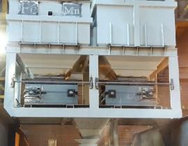 ساخت سیستم شارژ فرو آلیاژ در کوره